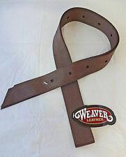 New Weaver Leather Nylon Latigo Cinch Half Breed Billet Saddle Brown Horse Tack
