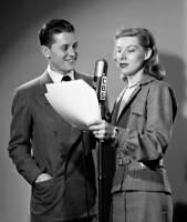 OLD CBS RADIO PHOTO Cbs Radio Singer Gordon Macrae And His Wife Sheila Stevens 2
