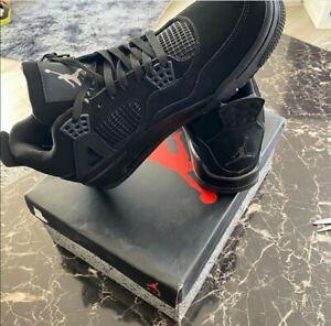 Size UK 10- Jordan 4 Winter Black