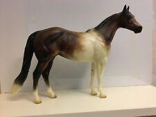 Eldora - Peter Stone Model Horse - Brown Pinto - Artisan Series -1/200 Signed
