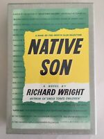 RICHARD WRIGHT ~ NATIVE SON The First Edition Library FEL Facsimile SEALED