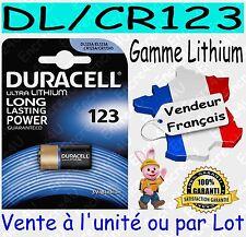 2 Piles Cr123a 3v Spécial Appareil Photo Duracell Livraison rapide et gratuite