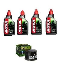 KIT OLIO MOTUL SCOOTER EXPERT 10W40+ HF552 BENELLI 304cc (4 Cylinder 4T) 84-89