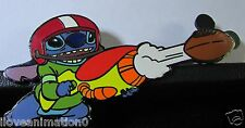 Disney Auctions Stitch Autumn Football LE 100 Pin