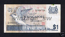 1976 SINGAPORE BIRD $1.00 HSS W/SEAL G/14 584704 P-9