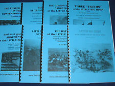 CUSTER 7th Cavalry INDIAN WARS Military History BOOK SET #1 Little Big Horn NEW