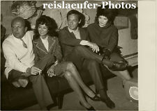 Yves Ciampi, Director with his wife Keiko Kishi and Actresses, Orig. Photo, 1962