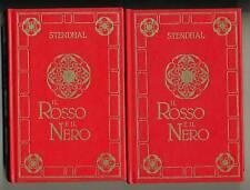 Stendhal # IL ROSSO E IL NERO # 2 VOL. # Peruzzo 1985