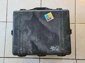King Pelican Case Black with Foam 22x18x8 Inch
