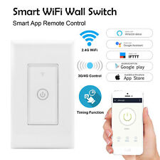 *Smart WIFI Light Wall Switch Works with Alexa Google Home IFTTT Safety Life App