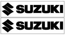 2 Suzuki Decals~Suzuki Motorcycle Racing Decal~12 Colors Available~Free Shipping