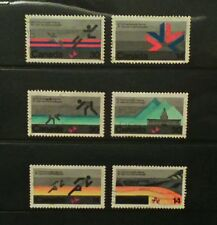 Canada  1978 commonwealth games Edmonton 1st & 2nd series used