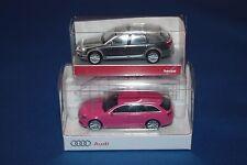 Konvolut 2er-Set Herpa Audi A6 Avant Sondermodelle 1/87 H0 OVP Rarität limitiert