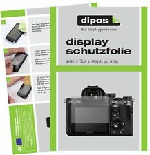 6x Sony A7R III Schutzfolie matt Displayschutzfolie Folie Display Schutz dipos