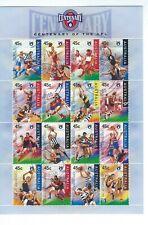 Australia # 1507a S/S Soccer Ar Flcentenary Sheet Football
