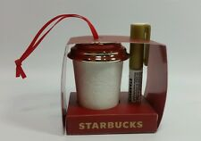 Starbucks Coffee Create Your Own Ornament Holiday 2013 NEW