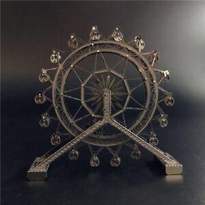 3D Metal Puzzle Creativity Ferris Wheel Architecture DIY Adult Assemble Model