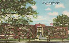 S.L. Sheep School in Elizabeth City NC Postcard