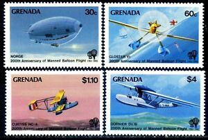 Grenada 1983 Bicentenary of Manned Flight (MNH)