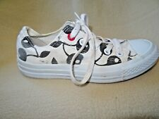 CONVERSE ALL STAR CHERRY PRINT LOW TRAINERS SIZE 4 UK 36.5 EURO          101