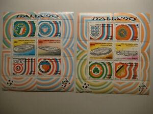 Italy.1990.World Cup Soccer.#1797-1802.MNH