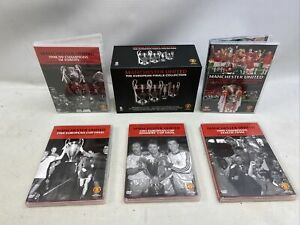 Manchester United - The European Finals Collection (DVD, 2011)