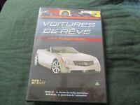 "DVD ""VOITURES DE REVE : LES ELEGANTES"" Cadillac, Mercedes"