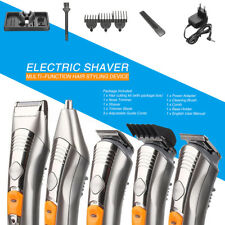 Professional Electric Body Beard Hair Cut Clipper Shaver Machine Kit Trimmer Set