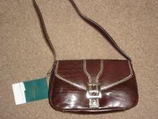 Hansson Small Brown Leather Underarm Shoulder Bag