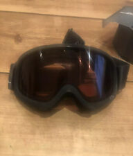 Smith Optic YOUTH Fit Black RC36 Snowboard Goggles. Handmade USA (ages 6 And Up)
