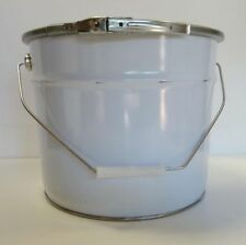 """Pail Steel Can Bucket Brand New 26 Gage Carbon Steel 12""""X10"""" Water & Air Tight"""