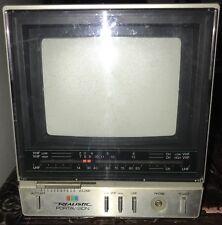 Antique TV —  1985 REALISTIC PORTAVISION Portable TV