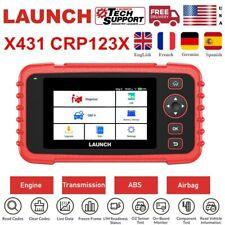 LAUNCH X431 CRP123X Pro OBD2 Car Diagnostic Service Scanner SRS ABS Code Reader