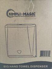 Simpli-Magic 79274 Commercial Grade Paper Towel Dispenser, Black