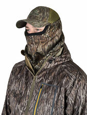 Mossy Oak 3/4 camo Head net mesh hunting mask turkey deer Face MO-34CH-BL