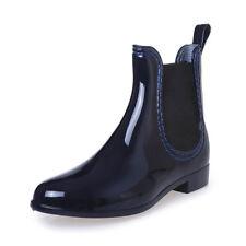 SAGUARO Kurzschaft Stiefel Gummistiefel Gummistiefeletten Regenstiefel Boots
