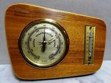 Hermosas vintage estación meteorológica barómetro higrómetro termómetro 50er - 60er