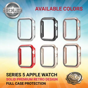 iApple Watch Series 5 Full Protective Case Screen Protector Cover RETRO 40/44mm