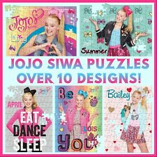 Personalised Jojo Siwa Puzzle - 120pc Jigsaw - With Any Text - Gift Idea - Bow