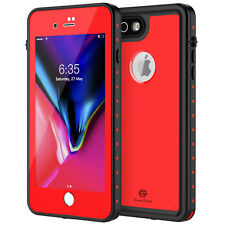 For iPhone 8 Plus Waterproof Case Dot Series Shockproof Full-Body Fits 7 Plus