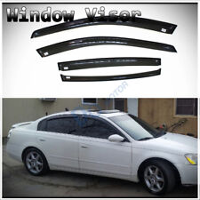 4pcs Smoke Sun/Rain Guard Vent Shade Side Window Visors Fit 02-06 Nissan Altima