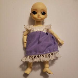 1/8 Pukifee size BJD Doll Small Cute LEGIT comes with Eyes Wig Dress