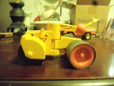 Vintage Fisher Price Husky Helper Steam Roller WITH SIDE BLADE