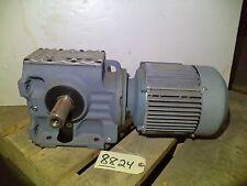 Sew-Eurodrive S67DT90L12/2 Gear Reducer w/ DFT90L12/2 Motor