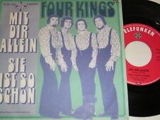 """7"""" - Four Kings-con te da sola & si è così bello-MINT # 2323"""