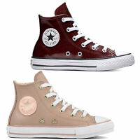 Converse Chuck Taylor All Star Hi Kinder-Schuhe Leder Synthetik Chucks Sneaker