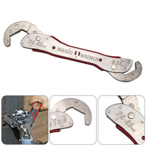 Stainless Multi-function Universal Quick Universal Wrench Magic Spanner Tools
