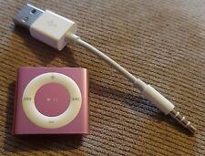 Apple iPod Shuffle 4th Generation - PINK - 2GB Serial CC4DNM43DCMK