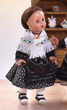 Mariquita Pérez vinilo vestido aragonesa negro ¡¡Envío Urgente!!