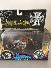 West Coast Choppers 1:18 Jesse James Muscle Machines El Diablo II